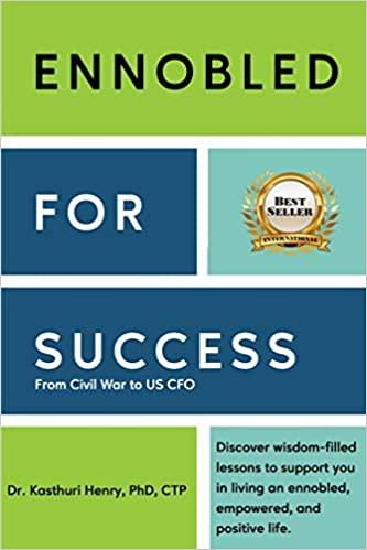 Dr. Kasthuri Henry author Ennobled for Success